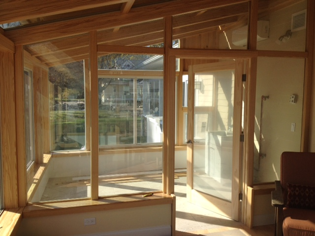 Combining a Sunroom and a Greenhouse | Our Work | Brady ...