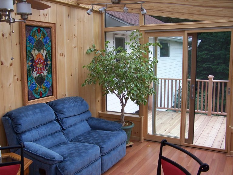 CT Enclose a Deck with an All-Season Sunroom Addition