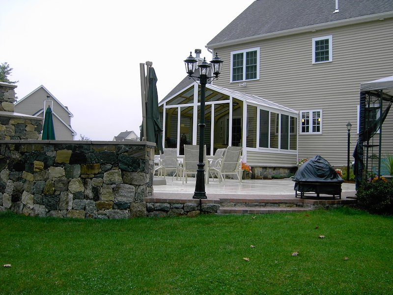 CT Patio Enclosed with All-Season Gable-Style Solarium