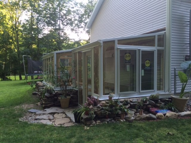CT Installing a Year-Round Sunroom Addition