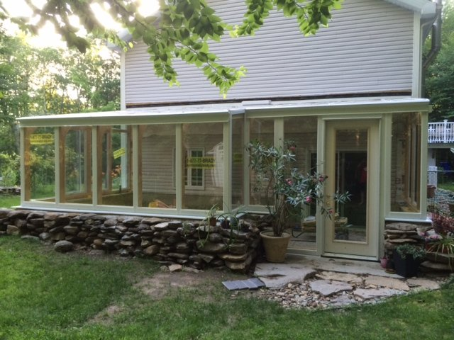 CT Exterior Year-Round Sunroom Addition