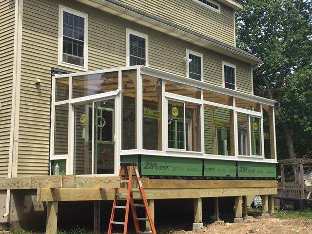Deck Enclosure Boston MA