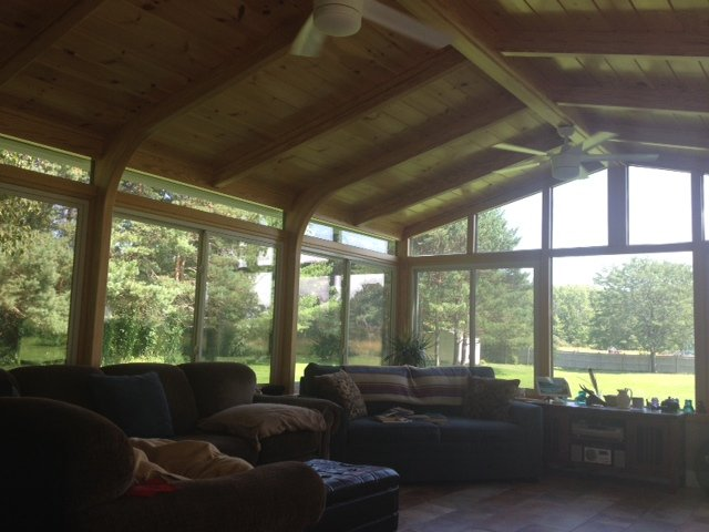 Solid-Roof Sunroom Vermont