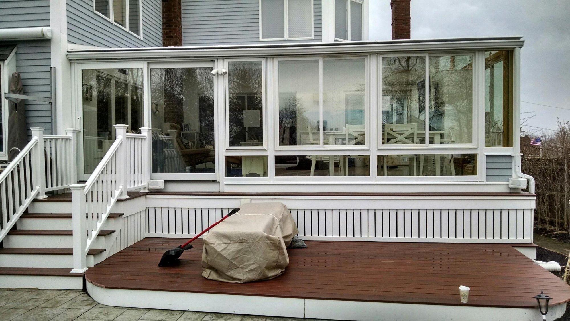 Deck Enclosure Sunroom Boston MA