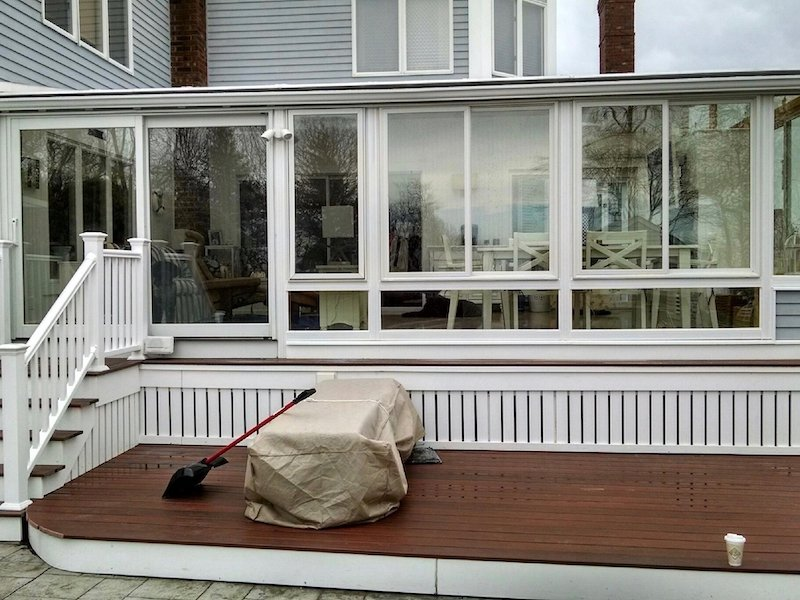 MA After Adding a 4 Season Sunroom to Enclose Your Porch