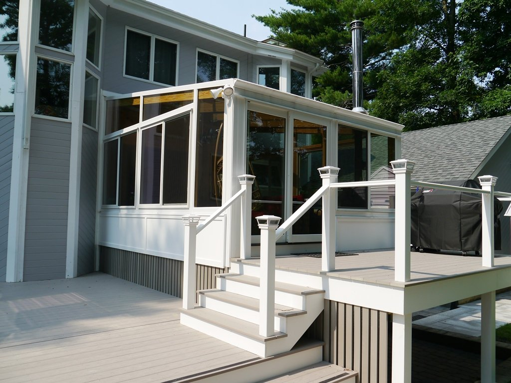 Deck Enclosed to All Season Sunroom Worcester MA