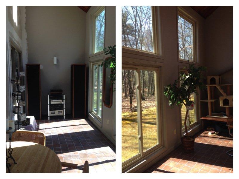 MA Create Space Interior Before Adding a Sunroom
