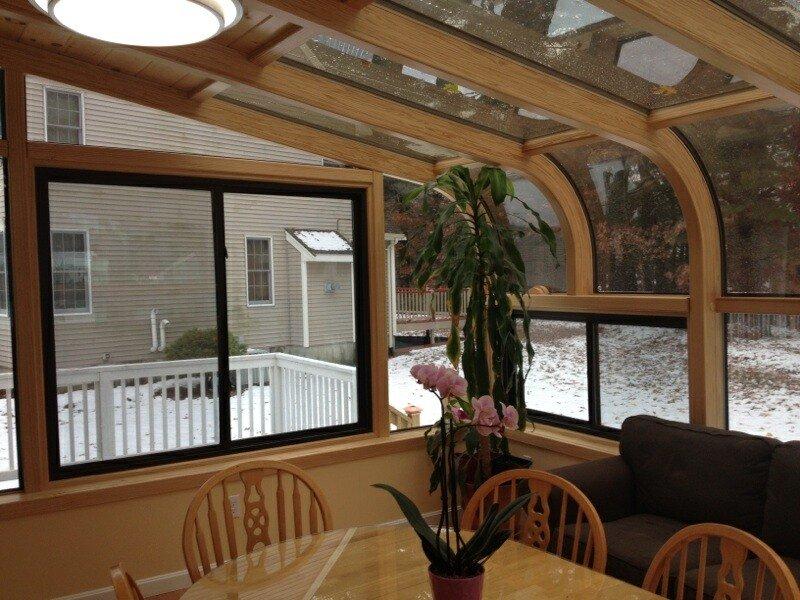 MA Add a Curved Glass Four Season Sunroom Addition