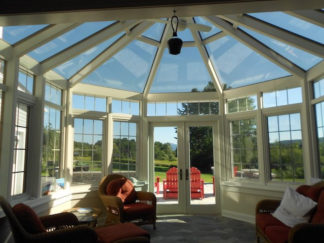 MA Enclose Patio with 4-Season Conservatiaon Sunroom