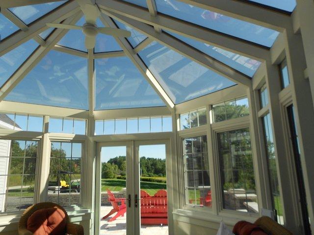 Interior Four Season Conservatory Sunroom