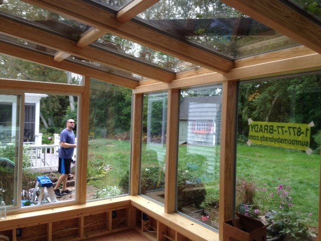 MA Four-Season Garden Sunroom Addition