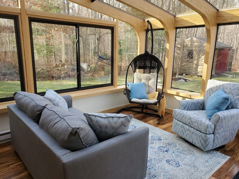 MA 4-Season Victorian-Eave Sunroom Addition