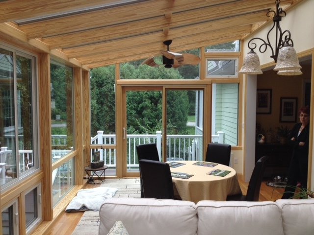 MA Replace Screen-In Porch with an All-Season Garden Solarium