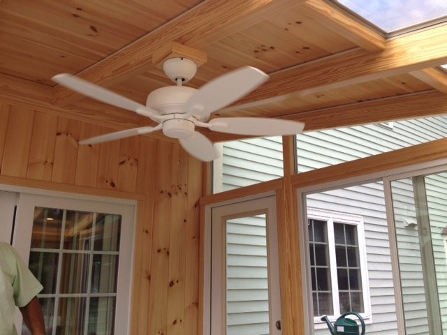 MA Replace Screen-In Porch with a Solid Roof Garden Sunroom Addition