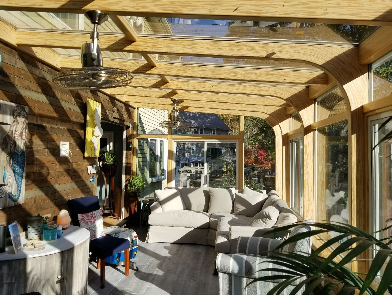 MA Turn Your Deck Into An All Season Sunroom - Interior
