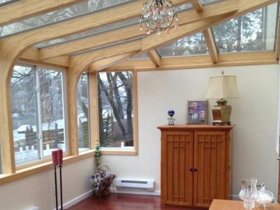 MA Uniquie Custom-Design All-Season Second-Story Sunroom Addition