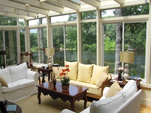 Four Season Sunroom Addition RI