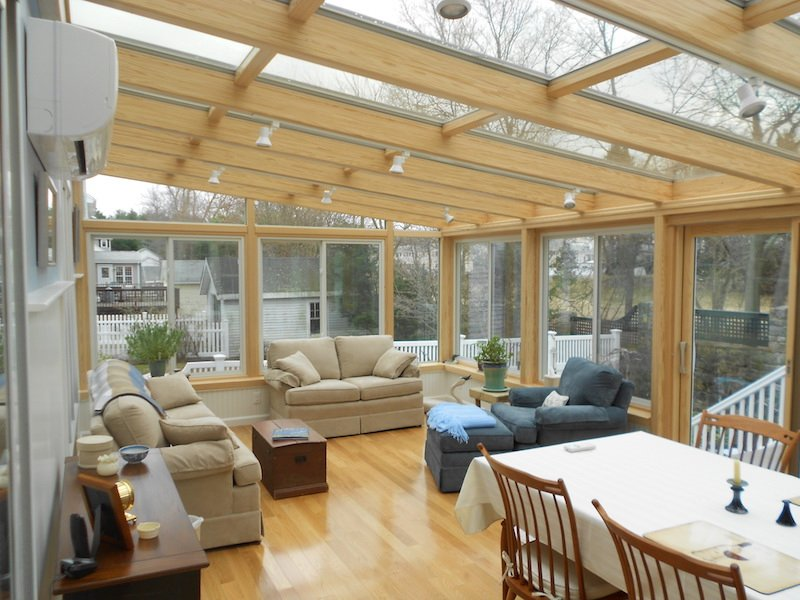 NH Enclose Patio with 4-Season Sunroom