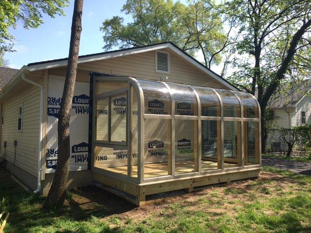Exterior Four Season Conservatory Sunroom