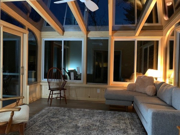 RI All-Season Garden-Style Sunroom Addition Makes Stay Home a Joy