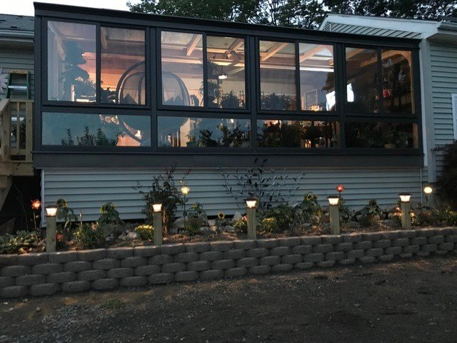 RI Deck Enclosed with an All-Season Sunroom