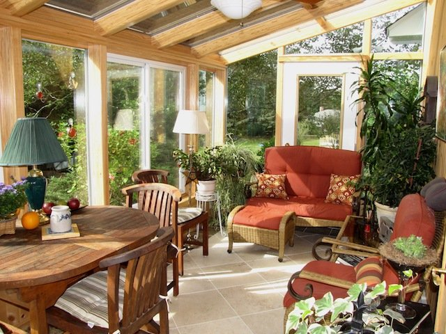 RI Patio Enclosed with a 4-Season Garden-Style Solarium Sunroom Addition
