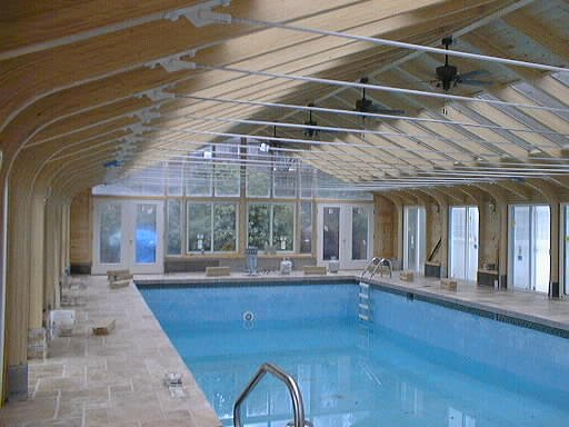 Indoor Pool and Spa Sunroom Enclosures