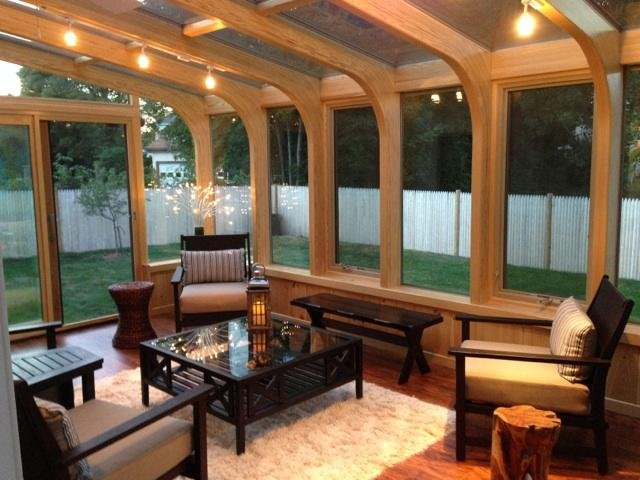 VT 4 Season Victorian Sunroom Addition Creates Space and Value